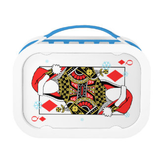 Merry Christmas Queen of Diamonds-Add Your Images Lunch Box