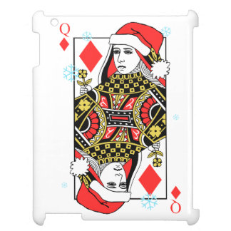Merry Christmas Queen of Diamonds Case For The iPad