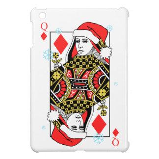 Merry Christmas Queen of Diamonds iPad Mini Cover