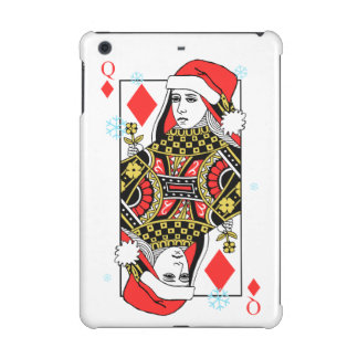 Merry Christmas Queen of Diamonds iPad Mini Retina Covers
