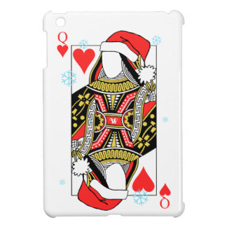 Merry Christmas Queen of Hearts - Add Your Images Case For The iPad Mini