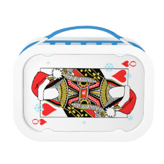 Merry Christmas Queen of Hearts - Add Your Images Lunch Box