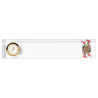 Merry Christmas Queen of Hearts - Add Your Images Nameplate