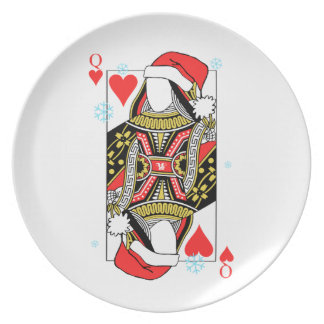 Merry Christmas Queen of Hearts - Add Your Images Plate