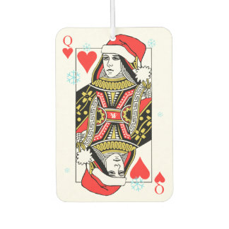 Merry Christmas Queen of Hearts Air Freshener