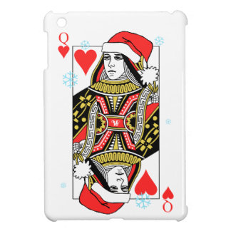 Merry Christmas Queen of Hearts Case For The iPad Mini