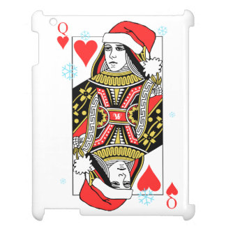Merry Christmas Queen of Hearts Cover For The iPad 2 3 4