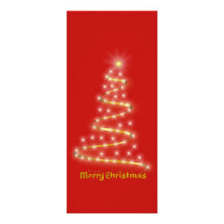 Merry Christmas Rack Card