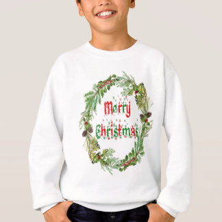 Merry Christmas red & green Sweatshirt
