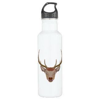 Merry Christmas Reindeer 710 Ml Water Bottle