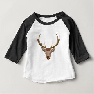 Merry Christmas Reindeer Baby T-Shirt