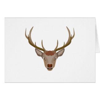 Merry Christmas Reindeer Card
