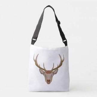 Merry Christmas Reindeer Crossbody Bag