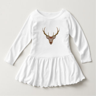 Merry Christmas Reindeer Dress
