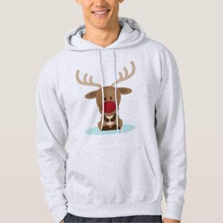 Merry Christmas Reindeer Hoodie