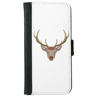 Merry Christmas Reindeer iPhone 6 Wallet Case