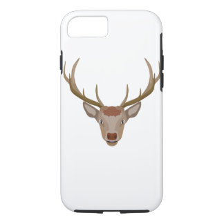 Merry Christmas Reindeer iPhone 8/7 Case