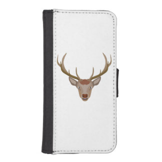 Merry Christmas Reindeer iPhone SE/5/5s Wallet Case