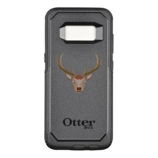 Merry Christmas Reindeer OtterBox Commuter Samsung Galaxy S8 Case