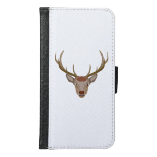 Merry Christmas Reindeer Samsung Galaxy S6 Wallet Case