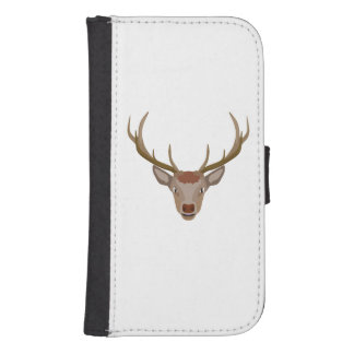 Merry Christmas Reindeer Samsung S4 Wallet Case