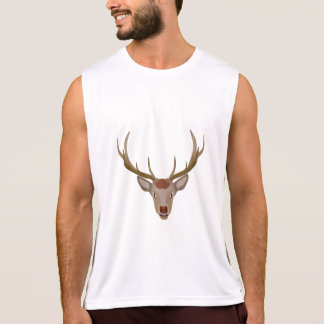 Merry Christmas Reindeer Tank Top