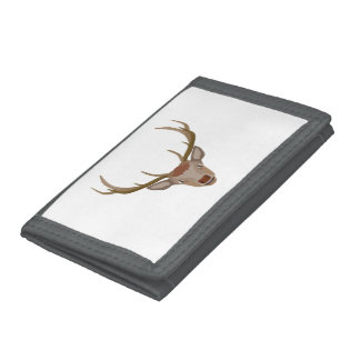 Merry Christmas Reindeer Trifold Wallet