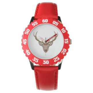 Merry Christmas Reindeer Watches
