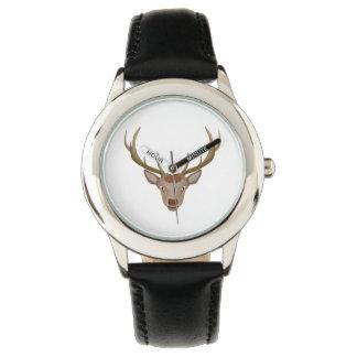 Merry Christmas Reindeer Wrist Watches