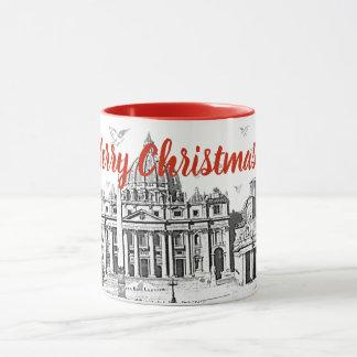 Merry Christmas Rome Mug