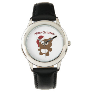 Merry Christmas! Santa Bear Watches