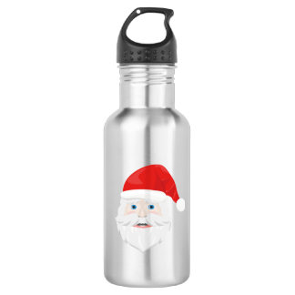 Merry Christmas Santa Claus 532 Ml Water Bottle