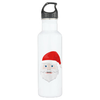 Merry Christmas Santa Claus 710 Ml Water Bottle