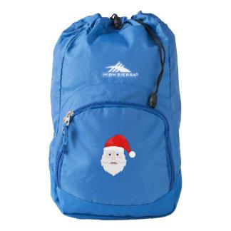Merry Christmas Santa Claus Backpack