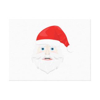 Merry Christmas Santa Claus Canvas Print