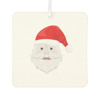Merry Christmas Santa Claus Car Air Freshener
