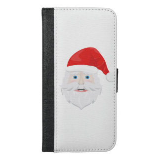Merry Christmas Santa Claus iPhone 6/6s Plus Wallet Case