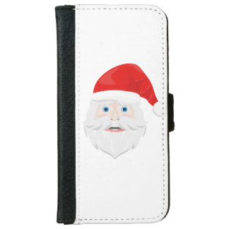 Merry Christmas Santa Claus iPhone 6 Wallet Case