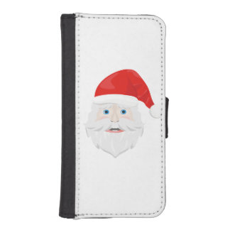 Merry Christmas Santa Claus iPhone SE/5/5s Wallet Case