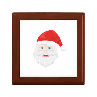 Merry Christmas Santa Claus Jewelry Boxes