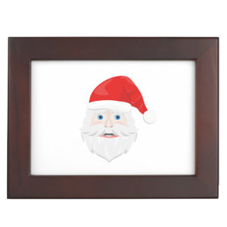 Merry Christmas Santa Claus Keepsake Boxes