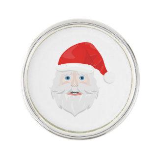 Merry Christmas Santa Claus Lapel Pin