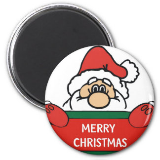 Merry Christmas Santa Claus Magnet