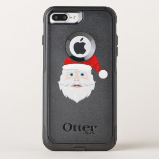 Merry Christmas Santa Claus OtterBox Commuter iPhone 7 Plus Case