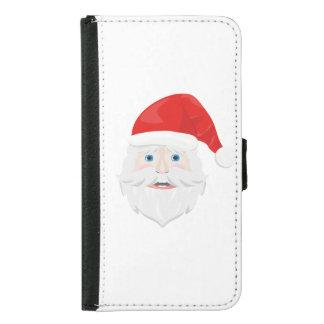 Merry Christmas Santa Claus Samsung Galaxy S5 Wallet Case