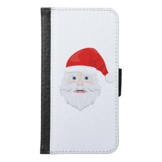 Merry Christmas Santa Claus Samsung Galaxy S6 Wallet Case