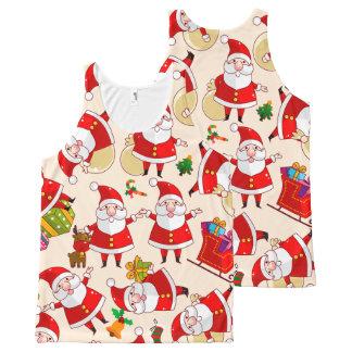 Merry Christmas Santa Claus Tank Top