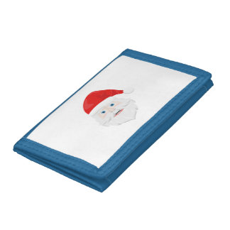 Merry Christmas Santa Claus Trifold Wallets