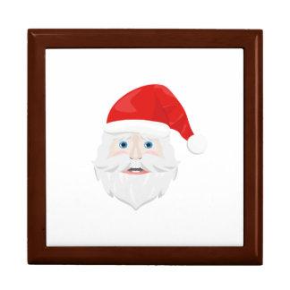 Merry Christmas Santa Claus Trinket Box