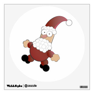 Merry Christmas Santa Claus Wall Decal